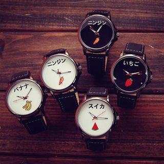 Print Strap Watch