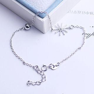 Flower 925 Sterling Silver Bracelet