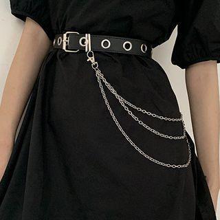 Chained Garter Belt