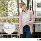 Long Sleeve Floral Print Blouse