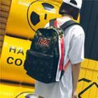 Patterned Oxford Backpack