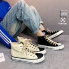 Star Print High Top Sneakers