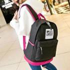 Contrast Trim Lightweight Backpack