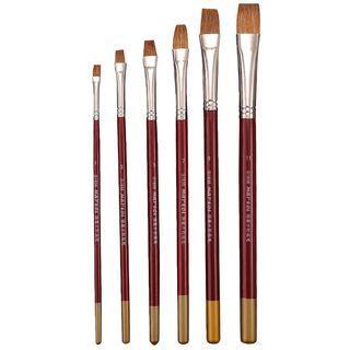 Set Of 6: Paint Brush Set Of 6 - Paint Brush - One Size