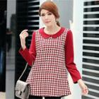 Houndstooth A-line Top