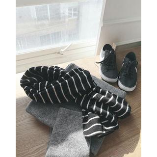Stripe Cotton Scarf