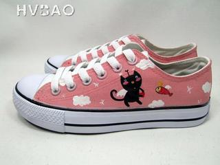 Kitty Stories Canvas Sneakers