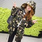 Hooded Camo Jacket
