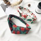 Cherry Print Hair Band