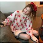 Motif Knit Sweater
