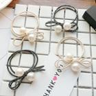 Faux Pearl Layered Hair Tie