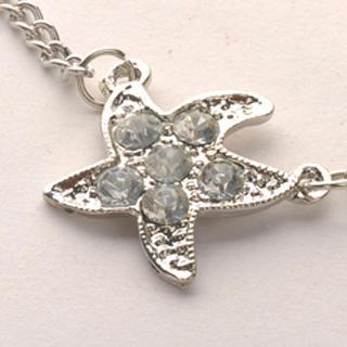 Starfish Necklace - Silver Silver - One Size