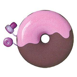 Zumreed Donuts Earphone (cord Wrap + Earphones) (blueberry Chocolate)