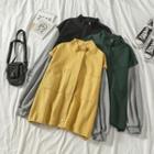 Paneled Zip Cargo Jacket