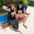 Couple Graphic Tank Top