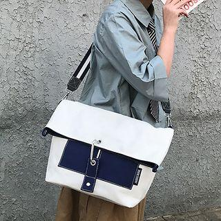 Two-way Canvas Messenger Bag