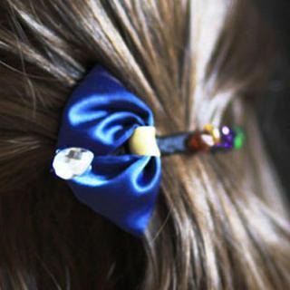 Rhinestone Hair Clamp