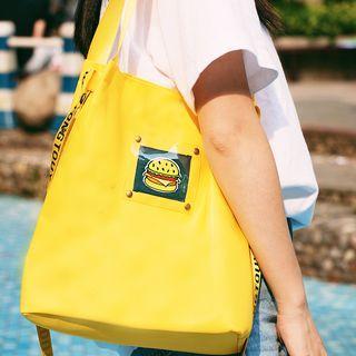 Applique Shopping Bag