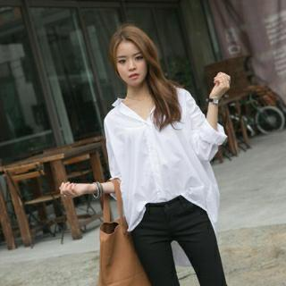 Loose-fit Cotton Shirt