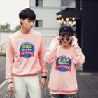 Print Matching Couple Sweatshirt