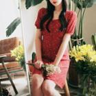 Heart Short-sleeve A-line Dress