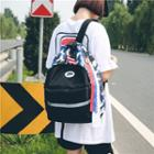 Camouflage Panel Oxford Backpack