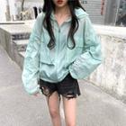 Long Sleeve Hooded Light Jacket