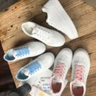 Cat Embroidered Platform Sneakers