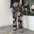 Print Wide-leg Pants