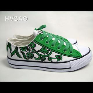 Going Green Canvas Sneakers