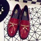 Tassel Patent Loafers