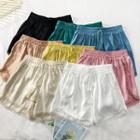 Lace-trim Drawcord Shorts