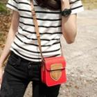 Appliqu  Crossbody Bag