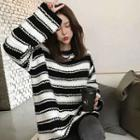 Stripe Loose-fit Sweater