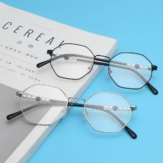 Octangle Frame Glasses
