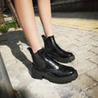 Wingtip Chelsea Boots
