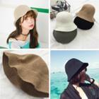 Plain Foldable Bucket Hat