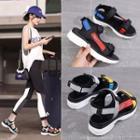 Color Strap Platform Sandals