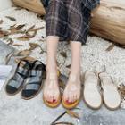 Clear Band Flat Sandals