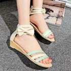 Strappy Bow Sandals