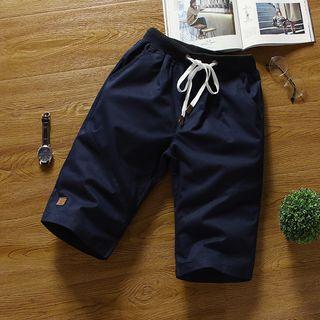 Applique Plain Shorts