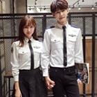 Couple Matching Pilot Shirt