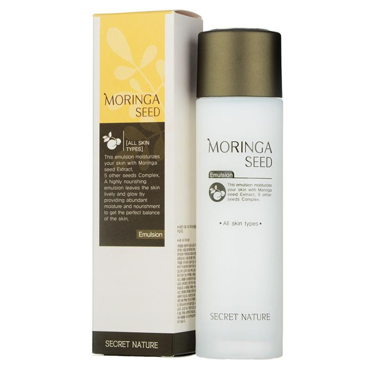 Secret Nature - Moringa Seed Emulsion 130ml