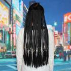 Clip-on Hair Extension - Braid Straight