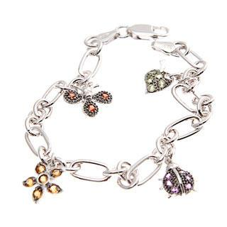 World Of Insect Semi-precious Studded Bracelet