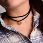 Double-strand Jeweled Choker