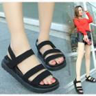 Sling Back Platform Sandals