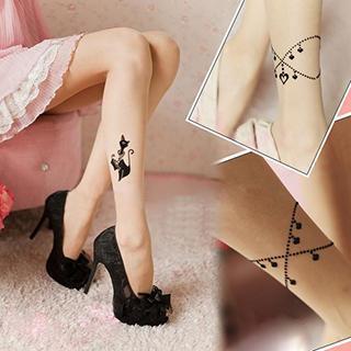 Print Stockings