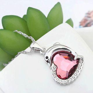 Swarovski Element Crystal Heart Necklace