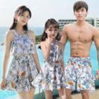 Family Matching Floral Swim Dress / Swim Shorts